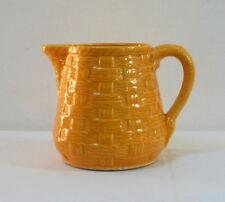 Pichet de table ancien jaune Digoin Sarreguemines
