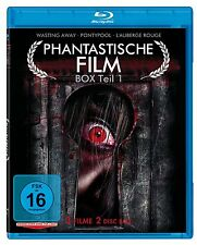 3 Horrorfilme BLU-RAY L'Auberge Rouge, Wasting Away - Zombies sind auch nur Mens