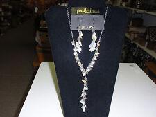 "Park Lane Jewelry, ""PEBBLE BEACH"" Necklace & Earrings, Genuine Seashells, NEW!!!"