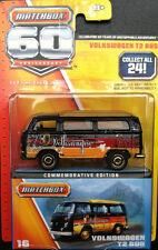MATCHBOX  VW Volkswagen 60TH ANNIVERSARY VOLKSWAGEN T2 BUS