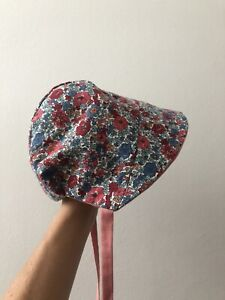 Liberty of London Reversible Handmade Bonnet