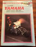 Clymer Yamaha XJ550 Fours 1981-1983 Service Repair Performance Motorcycle