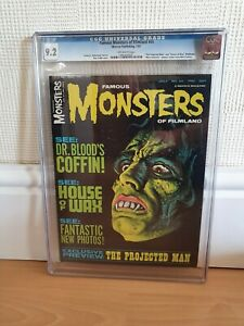 Famous monsters #45 high grade CGC graded 9.2 Near Mint-