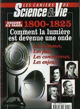 la lumière est devenue une onde -  Les cahiers de Science et VIE N°65 oct. 2001