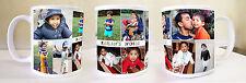 Personalised custom gift Coffee/Tea Mug Printing -11oz Large Handle,Glossy White