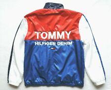 Tommy Hilfiger Mens Colorblock Zip Front Jacket Size: XL