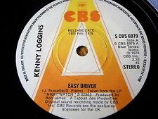 """Kenny Loggins-Easy Driver 7"""" vinyl promo"""