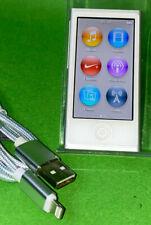 Apple iPod nano 7. Generation Silber(16GB) (aktuellstes Modell)