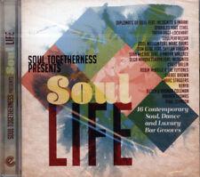 "SOUL TOGETHERNESS PRESENTS - SOUL LIFE  ""16 SOUL, DANCE & LUXURY BAR GROOVES"" CD"