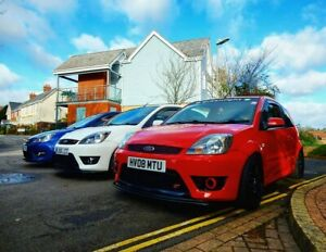 2008 Ford Fiesta ST150 Facelift Colorado Red Fast Road Track Spec BC Racing OMP