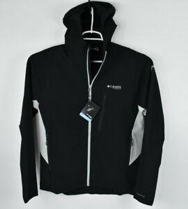 NEW Columbia Titanium Men's Irico Midlayer Jacket Black Sz M AO0314 Vented $150
