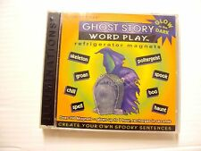 Word Play 350+ Refrigerator Magnet Kids Learning Vocabulary--Ghost  glow in dark