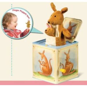 Schylling Kangaroo Jack in the Box Tin Toy - NEW and MINT - SALE!