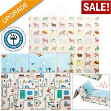 Baby Play Mat Foldable Reversible Non Toxic Foam Crawl Playmat Waterproof Kids