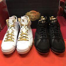 Nike Air Jordan Retro VII VI Size 13 DMP Pack GMP CDP Olympic Gold XI 6 2 Pairs