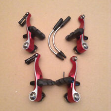 TRP CX8.4 Mini V-brakes Cyclocross Brake Set Red New