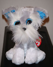 Ty Beanie Boos ~ Whiskers the Schnauzer Dog (6 Inch) Mint with Mint Tags