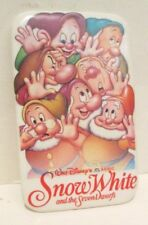 Walt Disney Snow White And The Seven Dwarfs Animated Movie Pin Back Button