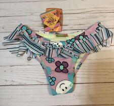 New Maya Swimwear Argentina Mulit Color Bikini Bottom Size Small Nwt