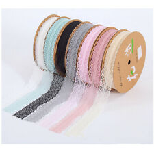 Lace Floral Trims Sewing Craft Edging Ribbon Trimming DIY Sewing Dress Underwear