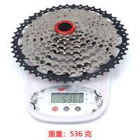 BOLANY Mountain Bike Cassette Sprocket 9-speed 11-50T MTB Bicycle Freewheel 535g