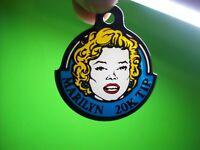 Marilyn Monroe Pinball Keychain Original NOS Williams Machine Plastic Promo 1988