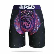 PSD Underwear Men's Rick and Morty Spiral Boxer Brief XL Purple