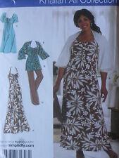 Simplicity Sewing Pattern--Women's DRESS-TUNIC-PANTS-SCHRUG-Sizes: 26W-32W-Uncut