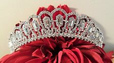 Bridal Silver Plated Tiara / Sweet 16 Tiara / Wedding tiara