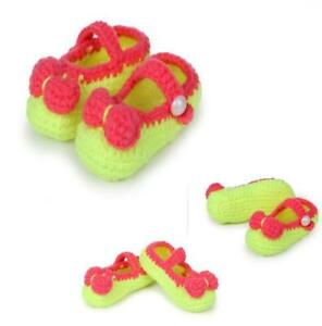 Newborn Baby Soft Sole Crib Shoes Infant Boy Girl Toddler Non-Slip 0-18M
