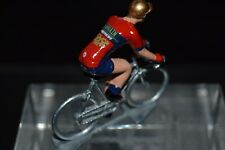 Bahrein Merida 2018 - Petit cycliste Figurine - Cycling figure