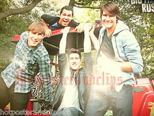 Sexy german Big Time Rush Poster wow tolle Boy Band very hot nice guy s b
