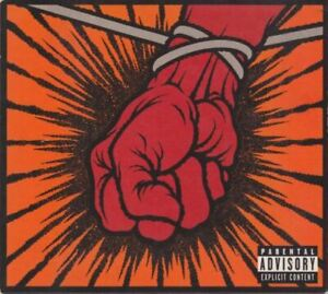 METALLICA St anger (CD album & DVD video, multichannel) thrash, heavy metal,