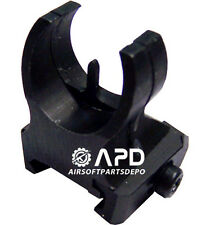 JG Front Tactical Rail Mount Sight iron Airsoft AEG M4 M16 Attachment