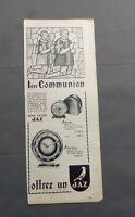 PUB PUBLICITE ANCIENNE ADVERT CLIPPING 60617 PENDULETTE CLASSE ET DE QUALITE JAZ