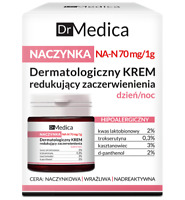 Bielenda Dr Medica Capillaries Dermatological Face Cream Reducing Skin Redness