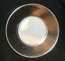 Bernardaud, Dune, Silver Rim Saucer ~new~