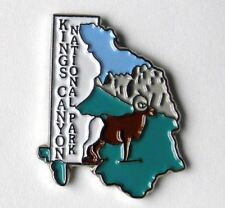 KINGS CANYON NATIONAL PARK UNITED STATES LAPEL PIN BADGE 1 INCH