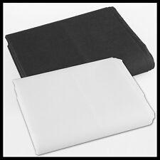 1,6 m X 3m fotografía dos telón de fondo Blanco Negro Foto Studio fondo de pantalla