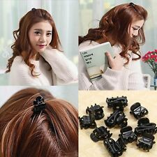 Sale  Plastic Mixed Black Hair Clips Hairpin Small Claws Clamps