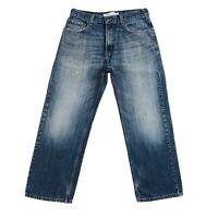 Vintage Levi 'S 569 Bleu en Vrac Jeans Coupe Droite Taille W32