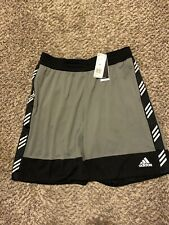 Mens 2XL Adidas PM Basketball Shorts Black DU1713 NWT