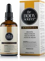 Pure Moroccan Argan Oil 100% Organic Cold Pressed, Extra Virgin, Filtered And