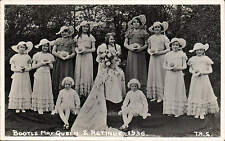 Bootle, Liverpool. May Queen & Retinue 1936 # 6 by T.R.