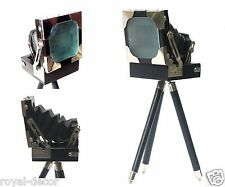 Marine Vintage Old Film Folding Camera Decorative Table Desk Studio Collectibles