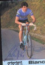 VALERIO PIVA Signée BIANCHI PIAGGIO cyclisme Autograph cycling ciclismo radsport