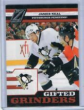 2010-11 PANINI ZENITH JAMES NEAL GIFTED GRINDERS INSERT #11 PENGUINS