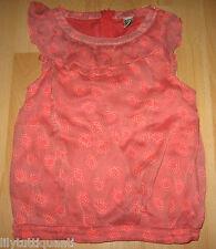 TAO ♥ Haut Tunique blouse imprimé orange ♥ Taille 10 ans - TBE !!!!!