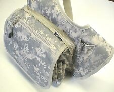 Fly Fishing Sling Guide Gear Bag, Digital Camo Design, Light Strong & Compact
