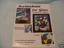 Scrimshaw for Glass by Nancy Willimon 2001